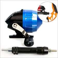 Bow Fishing Reel Archery Slingshot Spincast Reel With Fishing Reel Seat Outdoor