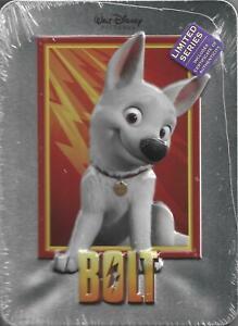 Bolt (DVD, 2011, Disney Movie Club Exclusive, Collectible Tin) NEW!