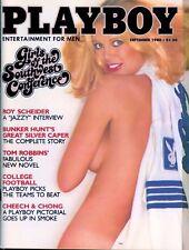 PLAYBOY SEPTEMBER 1980 Rita Lee Lisa Welch Roy Scheider Girls of the SW Conf MLR