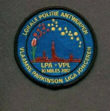 Special limited edition police patch - Local Police Antwerp (Belgium)