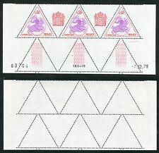 3 Timbres Taxes MONACO neufs TB** YT n° 69 - Sceau Princier - Coin Daté 07/12/79