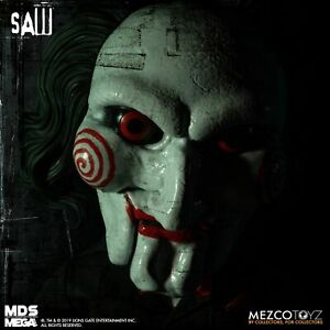 """Living Dead Dolls  Mega Scale """"SAW """" Billy 15"""" With Sound .   Boxes Not Perfect."""