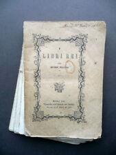 I Libri Rei per Antonio Pellicani Tipografia Istituto dei Paolini Monza 1861