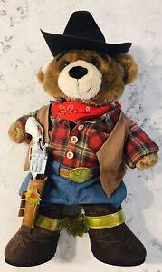 BUILD A BEAR WORKSHOP BABW BEAR & COWBOY OUTFIT ~ BANDANA ~ BOOTS ~ SPURS ~ HAT