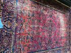 King of the Boho Rugs!- Big and Beautiful 9x 12 Antique Machine Made Wool Carpet