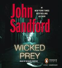 Wicked Prey (Lucas Davenport Mysteries) by John Sandford UNAB...FREE SHIPPING