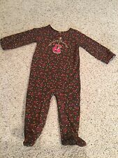 Baby Girl Sleep And Play Outfit Size 12 Months(western)