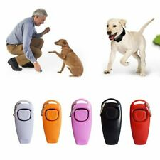 cool Dog Training Click Whistle Clicker Pet Guide Obedience Pet new