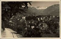 Bolzano Bozen Südtirol frankierte AK 1927 Passeggiata di Guncinà Gruppo Dolomiti