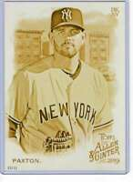 James Paxton 2019 Allen and Ginter 5x7 Gold #267 /10 Yankees