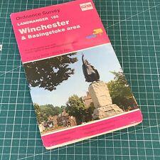 1995 Landranger 185 Edition 8 Winchester & Basingstoke Ordnance Survey Map