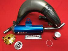 KTM SX 85 2018 2019 HGS Exhaust System Blue with VHM Cylinder Head & 12* Piston