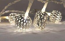Exotic String Lights 20 Led White Maroq / Wedding / Home decor / Morrocan