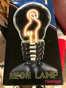 Neon Lamp Flamingo