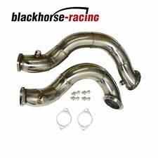 "3"" SS Catless Downpipes FITS BMW N54 E90/E91/E92/E93/E82/135i/335i Twin Turbo"