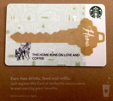 "STARBUCKS GIFT CARD - CO BRANDED  ""REAL ESTATE - KEY""COLLECTABLE & NO CASH VALUE"
