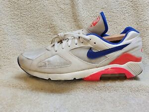 Nike Air Max 180 OG mens trainers White/Navy/Red UK 11 EUR 46 US 12