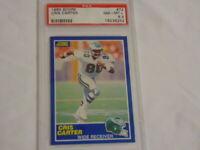 1989 Score Football Cris Carter ROOKIE RC #72 PSA 8.5 NM-MT+ Vikings HOF