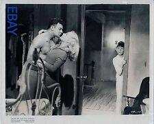 Cornel Wilde barechested Jean Wallace VINTAGE Photo Big Combo