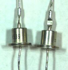 PAIR of New 1N536 Rectifier Diodes - NTE117 is Equivalent - NOS