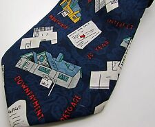 Necktie Tie Real Estate Mortgage Broker Agent Wall Street Executive Lawyer Bank