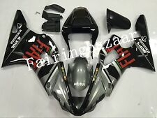 Fit for YZF R1 2000 2001 Black Grey ABS Injection Mold Bodywork Fairing Kit