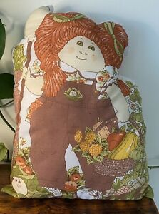 1983 Cabbage Patch Kids Cushion Gardening 40cm Tall Collectable Doll