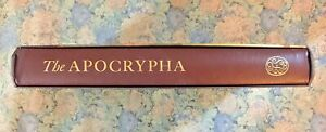 Folio Society Press The Apocrypha introduced By David Daniellas Slipcover 2007 H