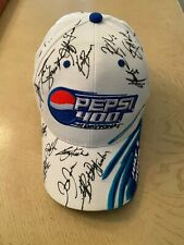July 1 2006 Daytona Pepsi 400 Nascar Signby Tony Stewart Baseball Hat