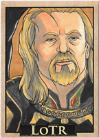 LOTR Lord of the Rings PSC ACEO Sketch Card RICH MOLINELLI THEODEN KING