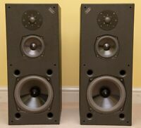 Professionally Refoamed Acoustic Energy AE3  Studio Monitors Speakers AE1 AE2