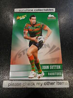 2012 NRL SELECT CHAMPIONS BASE CARD NO.153 JOHN SUTTON RABBITOHS