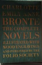 FOLIO SOCIETY Bronte Sisters 7 Vol Set. Jane Eyre, Wuthering Heights, Villette