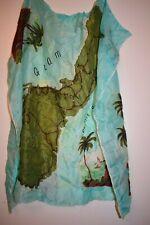 Vintage GUAM souvenir scarf