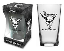 Venom VETRO BIRRA/BEER GLASS # 1 Black Metal-Pinta 570 ML