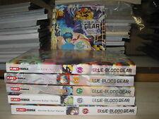 blue blood gear 1-6 completa planet manga pan