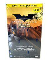 Batman Begins TOPPS Trading Cards Blaster Box 2005 Movie DC New NIB Sealed