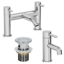 Bacia Moderna Mono Banheiro pia misturador torneira de adição e banho conjunto de resíduos Bacia com fenda