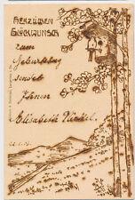Heilbronn a.d. Neckar 1906  brandtechnik  Künsrlerkarte  AK (184