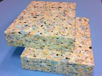 2x yoga blocks * yoga bricks. High density reconstituted chip foam. FREE POSTAGE