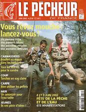 Revue le pêcheur de France  No  227 Juin  2002