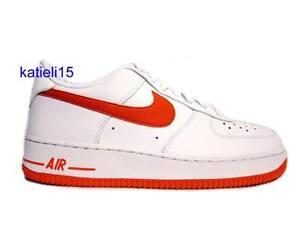 Nike Air Force 1 GS Orange Dunk Jordan SB Max AJ Free 7Y