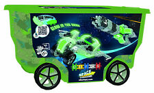Clics Space Themed Rollerbox Building Toy - 400 Pieces / Glow-in-the-Dark!