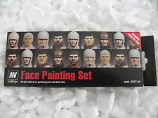 VAL70119 Model Color Set -Faces Painting set of paints vallejo acrylic paint set