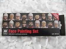Val70119 Modelo Color Set-Caras Pintura Set De Pinturas Vallejo acrílico Sistema De La Pintura