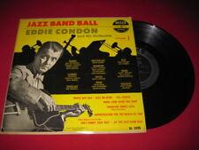 """EDDIE CONDON 10"""" LP - JAZZ BAND BALL - DECCA DL 5195"""