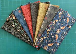 Moda Fabric Best of Morris Fall Fat 1/8 pack - 1 metre. Patchwork