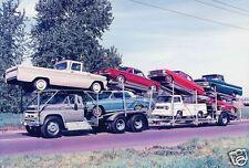 """5x7"""" photo 62-64 TRUCK LOAD OF CHEVY'S NOVA CORVAIR CORVETTE TRUCKS SUPER SPORT"""