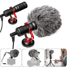Professional Universal Video Microphone Mic  for DSLR Camera Nikon Canon Sony