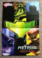 Metroid Prime Hunters Nintendo Power Poster Only Official Authentic New
